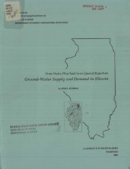 State Water Plan Task Force special report on ground-water supply ...