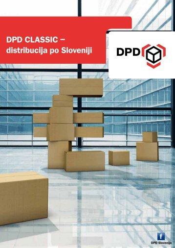 DPD CLASSIC – distribucija po Sloveniji