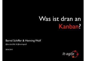 Was ist dran an Kanban? - it-agile