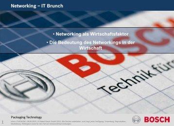 Die Bedeutung von Networking für die Wirtschaft - IT-Brunch