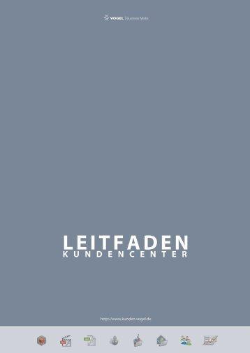 LEITFADEN - Vogel Business Media