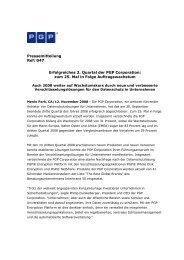 Erfolgreiches 3. Quartal der PGP Corporation - IT-Business
