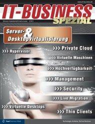 Server- Desktopvirtualisierung - IT-Business