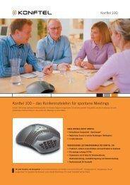 Konftel 100 – das Konferenztelefon für spontane Meetings - IT-Event