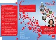 Flyer für den Stadtteiltag - IT-Event