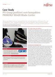 PFI Group profitiert vom kompakten PRIMERGY ... - IT-Haus GmbH