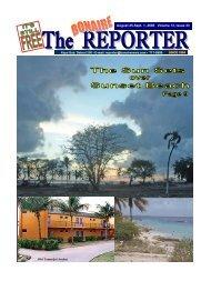 August 25-Sept. 1, 2006 Volume 13, Issue 33 - The Bonaire Reporter
