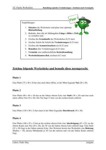 AUFGABE: Zeichnen nach Textangabe - IT-Realschule.de
