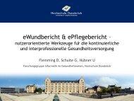 Prof. Dr. Ursula Hübner_Daniel Flemming_eWundbericht und ...