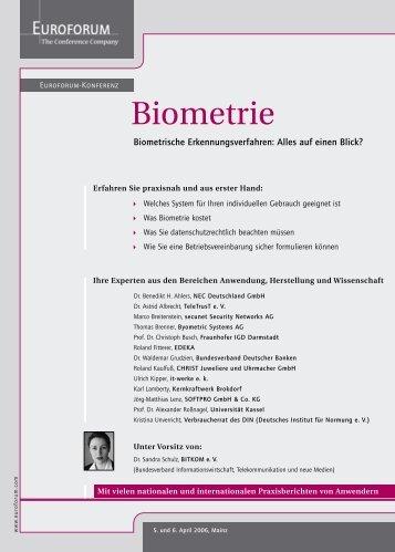 Biometrie - it-werke