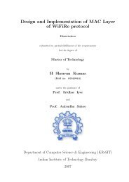 Final Thesis - KReSIT - Indian Institute of Technology, Bombay