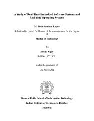A Study of Real-Time Embedded Software Systems and Real-time ...