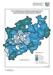 Kartogramm - Information und Technik Nordrhein-Westfalen (IT.NRW)