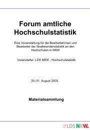 Materialsammlung - Information und Technik Nordrhein-Westfalen ...