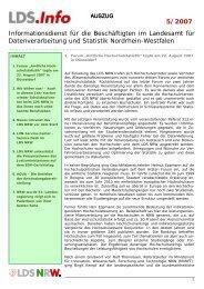 5/2007 - Information und Technik Nordrhein-Westfalen (IT.NRW)