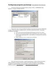 Konfiguracja programu pocztowego (Na przykładzie Outlook Express)