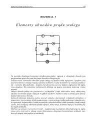 Elementy obwodów prądu stałego