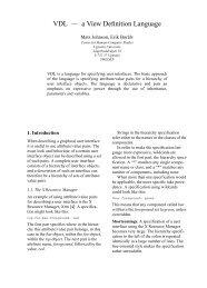 VDL — a View Definition Language