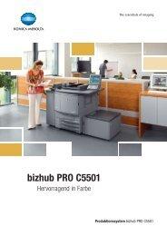 bizhub PRO C5501 - Büro Kramm GmbH