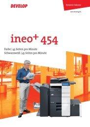 Broschüre ineo+ 454 - ITA-Copysysteme
