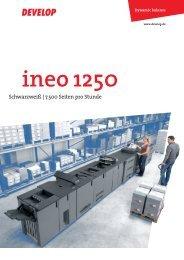 Broschüre ineo 1250 - ITA-Copysysteme