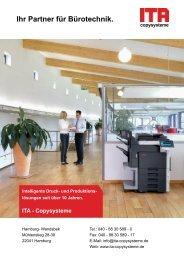 Broschüre ineo+ 8000 - ITA-Copysysteme