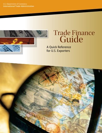 Trade Finance Guide: A Quick Reference for US Exporters - Export.gov
