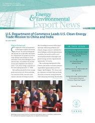 Energy and Environmental Export News - International Trade ...