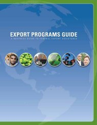 Export Programs Guide - International Trade Administration