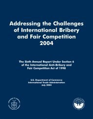 Addressing the Challenges of International Bribery and Fair ...