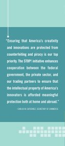 Protect Your Intellectual Property - STOPfakes.gov - Page 2