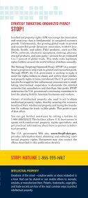 Protect Your Intellectual Property - STOPfakes.gov - Page 3