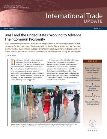 International Trade Update, April 2011