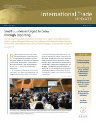 Full Issue in PDF - International Trade Administration