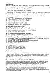 Umbau / Sanierung des Max-Planck ... - Dhp-sennestadt.de