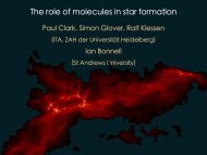 The role of molecular gas in star formation