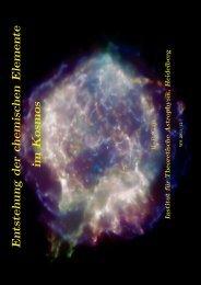 Elementsynthese in Sternen - Institut für Theoretische Astrophysik