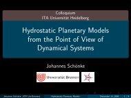 Hydrostatic Planetary Models