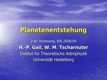 R - Institut für Theoretische Astrophysik