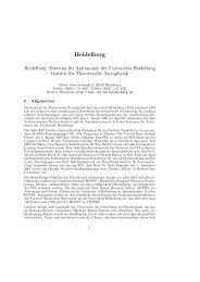 Jahresbericht 2007 (deutsch, .pdf Datei) - Institut für Theoretische ...