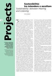 Sostenibilità: tra intendere e ascoltare ... - Italcementi Group