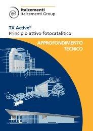TX Active® Approfondimento tecnico - Italcementi Group