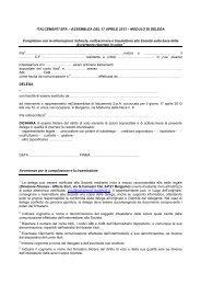 Modulo di delega - Italcementi Group