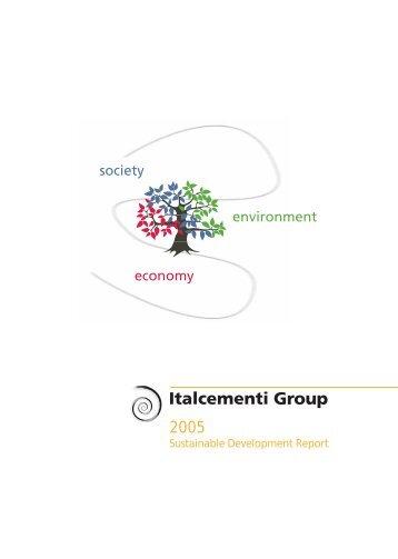 2005 Sustainable Development Report - Full ... - Italcementi Group