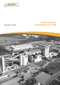 Consolidated quarterly report at 30 September ... - Italcementi Group - Page 3