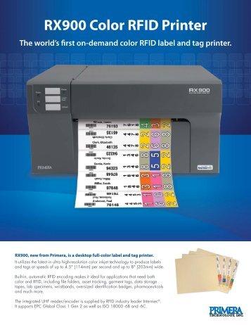 RX900 Color RFID Printer - Italcode