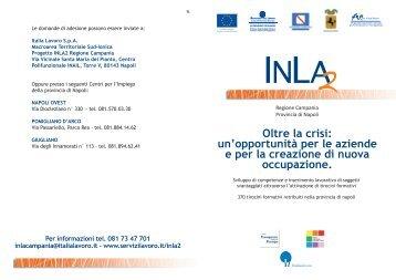 Brochure - Linea 4 - Italia Lavoro