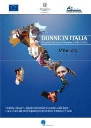 Donne in Italia. Una grande risorsa non ancora - Italia Lavoro