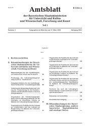 KWMBl I Nr. 5/2003, S. 130f., hier Pkt. 5