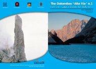 Copertina inglese.indd - Dolomiti
